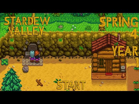 Embedded thumbnail for Conscious Uncoupling - Stardew Valley, Spring 4, Year 1, Start
