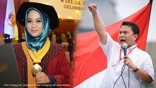 Wisudawan Terbaik Unpad Ber-IPK 4, Mardani Ali Sebut Skripsinya Bertema #2019GantiPresiden