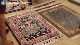 How to check the handmade carpet quality?