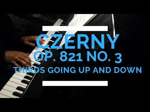 This is my Carl Czerny project where I am recording all of his etudes in his Op. 821. Here is No. 3