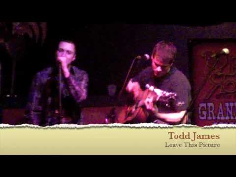 Nashville Singer / Song writer Todd James at the Red Rooster  Nashville,TN
