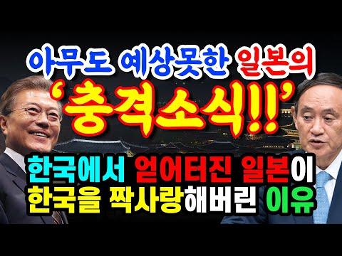 아무도 예상못한 일본의 '충격상황', 한국에서 한 대 얻어터진 일본이 한국을 짝사랑 하는 기상천외 상황