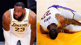 LeBron James In TROUBLE With Lakers After Injury!