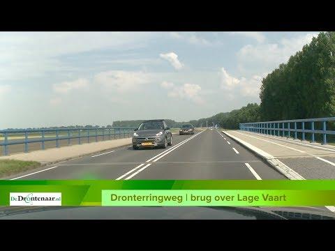 """Fietsafscheiding op bruggen Dronterringweg en Elburgerweg: """"Niet per ongeluk de weg op"""""""