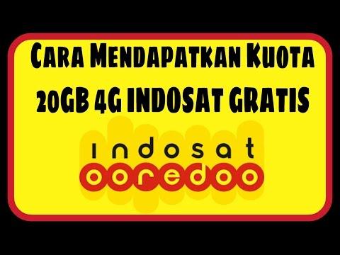 Video Cara Mendapatkan Kuota 20GB 4G Indosat Ooredoo