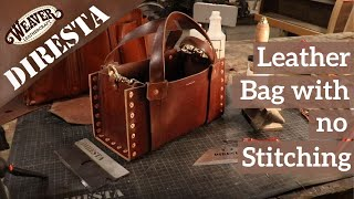 Making A Leather Bag With No Stitching - Jimmy DiResta