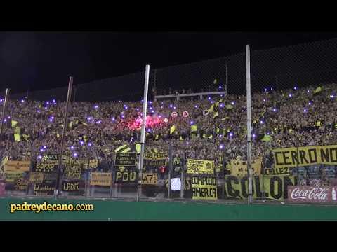 """""""""""Ver estos colores me acelera el pulso"""" + Final del partido - Hinchada Peñarol (Final Anu"""" Barra: Barra Amsterdam • Club: Peñarol"""