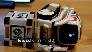 Cozmo's funniest reactions!  (Cozmo robot) PART ONE!