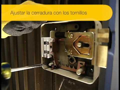 Video de instalación cerradura electromecánica con interruptor
