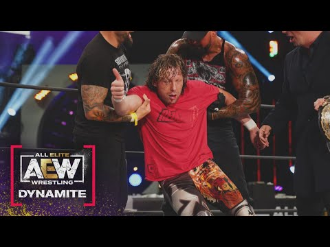 What Just Happened to the AEW World Champion Kenny Omega? | AEW Dynamite, 3/24/21