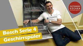 Bosch SERIE 4 GESCHIRRSPÜLER - Was kann die neue Spülmaschine von Bosch?