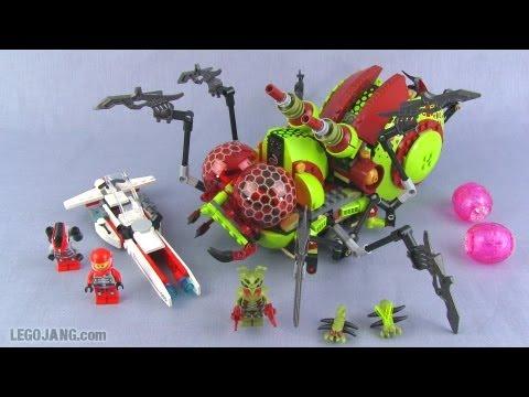 LEGO Galaxy Squad Hive Crawler 70708 set review!