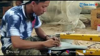 Kerajinan Tempurung Kelapa Buatan Warga Kudus Diekspor hingga Filipina