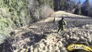 Partie Du 12.01.2014 #1 - Airsoft / Valais - Suisse [FR] [HD] GoPro Hero 3