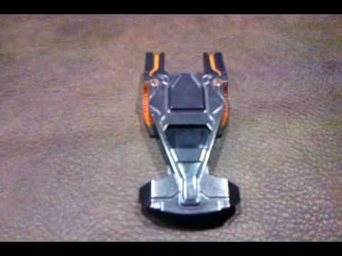 Tron Legacy CLU Command Ship Diecast Review