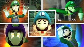 WHAT IF Luigi Had Other FINAL SMASHES? (Super Smash Bros Mods)