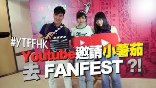 【突發】Youtube 邀請小薯茄去 FanFest!|Pomato 小薯茄