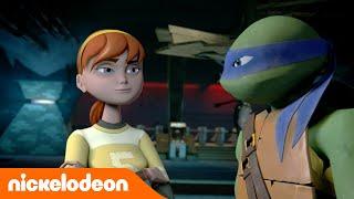 Черепашки-ниндзя | В поисках отца Эйприл | Nickelodeon Россия