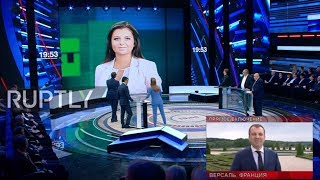 Russia: RT Editor-in-Chief rips into Macron for