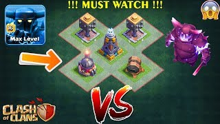 Super Pekka Vs All Defense In Builder Hall | Builder  Base - Clash Of Clans