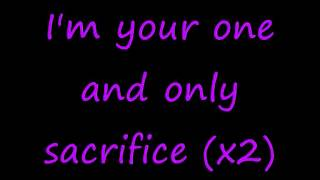 Adam Lambert- Sacrifice lyrics