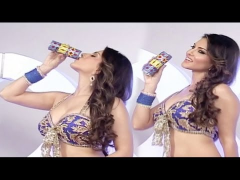 Sunny Leone Shoots For XXX Energy Drink Campaign