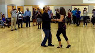 Central Jersey Dance Society Salsa Sensation Salsa lesson with Mike Andino 9 2 17