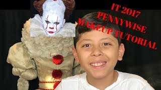 IT 2017 Pennywise Clown Makeup Tutorial  Makeup by Vicki