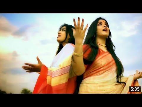 Bhorer Agomoni | Bajlo Tomar Alor Benu|Jaago Durga| | LUBNA ft.ANURATI | Durga Puja songs