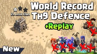 clash of clans town hall 9 war base 2018 - TH-Clip