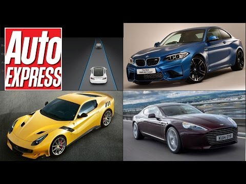 Tesla Model S upgrade, Ferrari F12tdf, BMW M2 - Car news in 90 secs