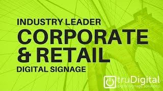 Vidéo de truDigital Signage