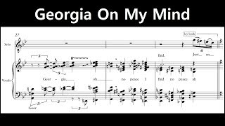 Jacob Collier - Georgia On My Mind (Full Transcription)