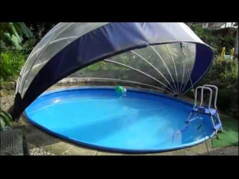 Schwimmbad Schwimmbecken Überdachung, für Rundpool - TROPIKO