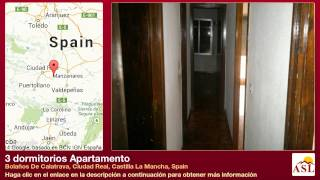 preview picture of video '3 dormitorios Apartamento se Vende en Bolaños De Calatrava, Ciudad Real, Castilla La Mancha, Spain'