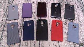 Samsung Galaxy S9 & Samsung Galaxy S9+ Official Case Lineup