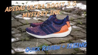 Adidas Ultra Boost Women Shoes Deep Blue Rose Yellow