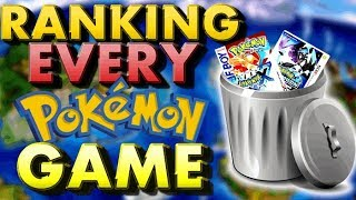 Ranking Every Main Series Pokemon Game   My Best To Worst List!