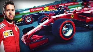F1 2018 MOD CAREER #9 | British GP (Sebastian Vettel Onboard)