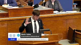 Martin Helme: Ma ei nõustu sellega, et Riigikogu puldis öeldakse, mida ma võin rääkida, mida mitte
