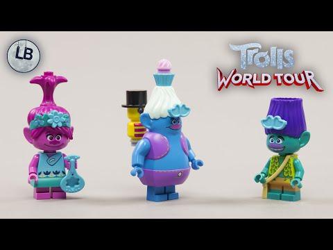 Vidéo LEGO Trolls World Tour 41252 : Les aventures en montgolfière de Poppy