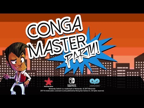 Conga Master Party - Nintendo Switch Trailer (ESRB) thumbnail