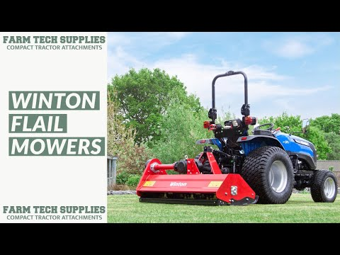 WFL175 - Winton Heavy Duty Flail Mower - 1 75m Wide - For Compact