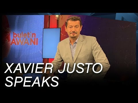 Xavier Justo Gives His First-ever Televised Interview