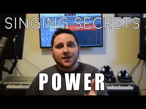 Quick tips for vocal power!