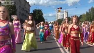 Шествие на День города в Могилёве