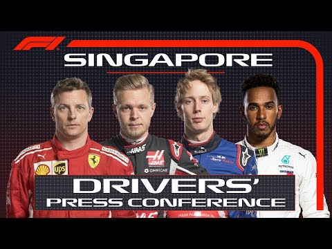 2018 Singapore Grand Prix: Press Conference Highlights