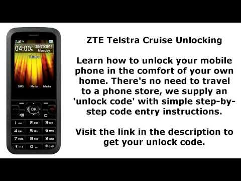 Zte F327S Australia Unlock Done - GsmUnlocker - Video - Free