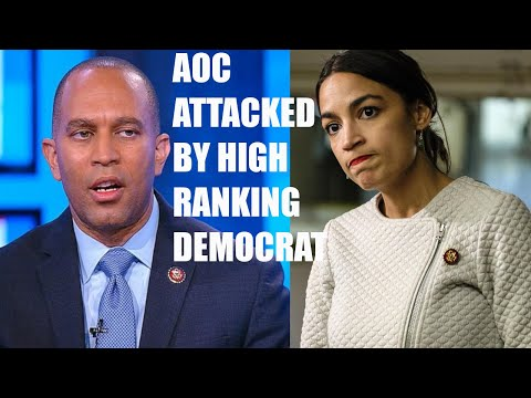 "AOC Gets ATTACKED By Top Ranking Democrat Hakeem Jeffries, He Calls Her An ""Internet Celebrity""!"