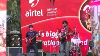 Arjun:TheBand - KLPD Live at North Campus, DU - Airtel Marathon Rockers